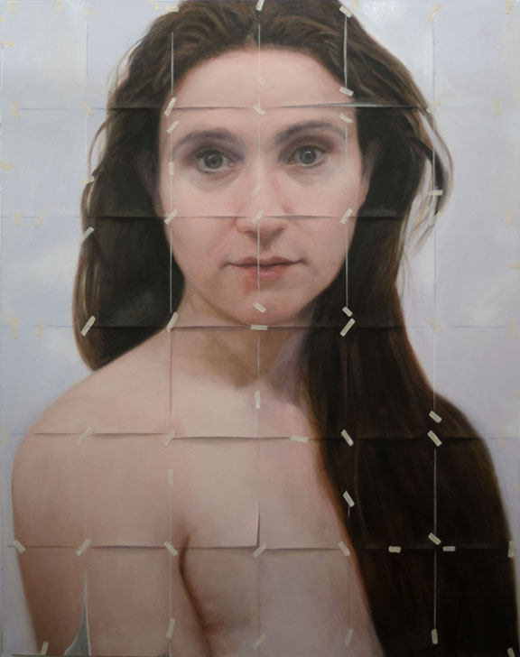 contemporary portraiture, conceptual art