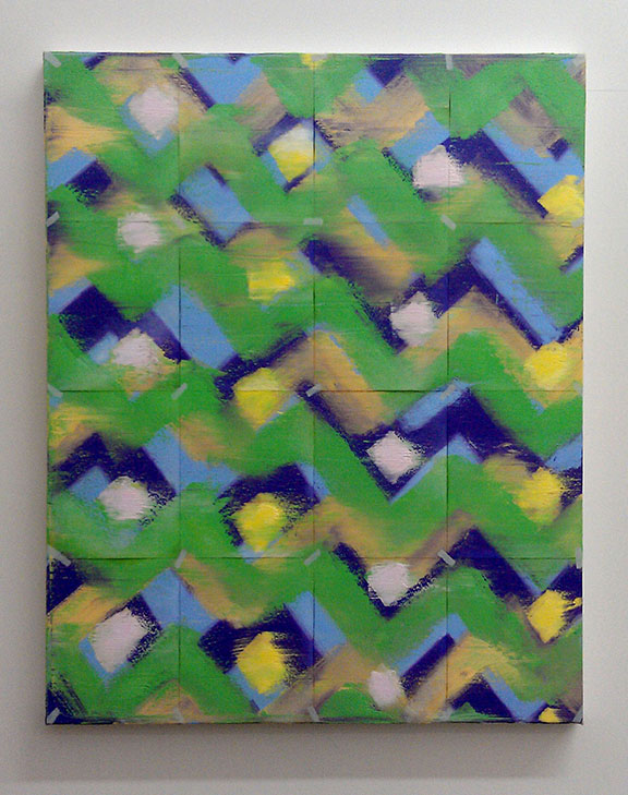 chevron painting, pattern painting, los angeles painter, contemporary art, conceptual painting, conceptual art, metamodern, contemporary painting, abstract painting